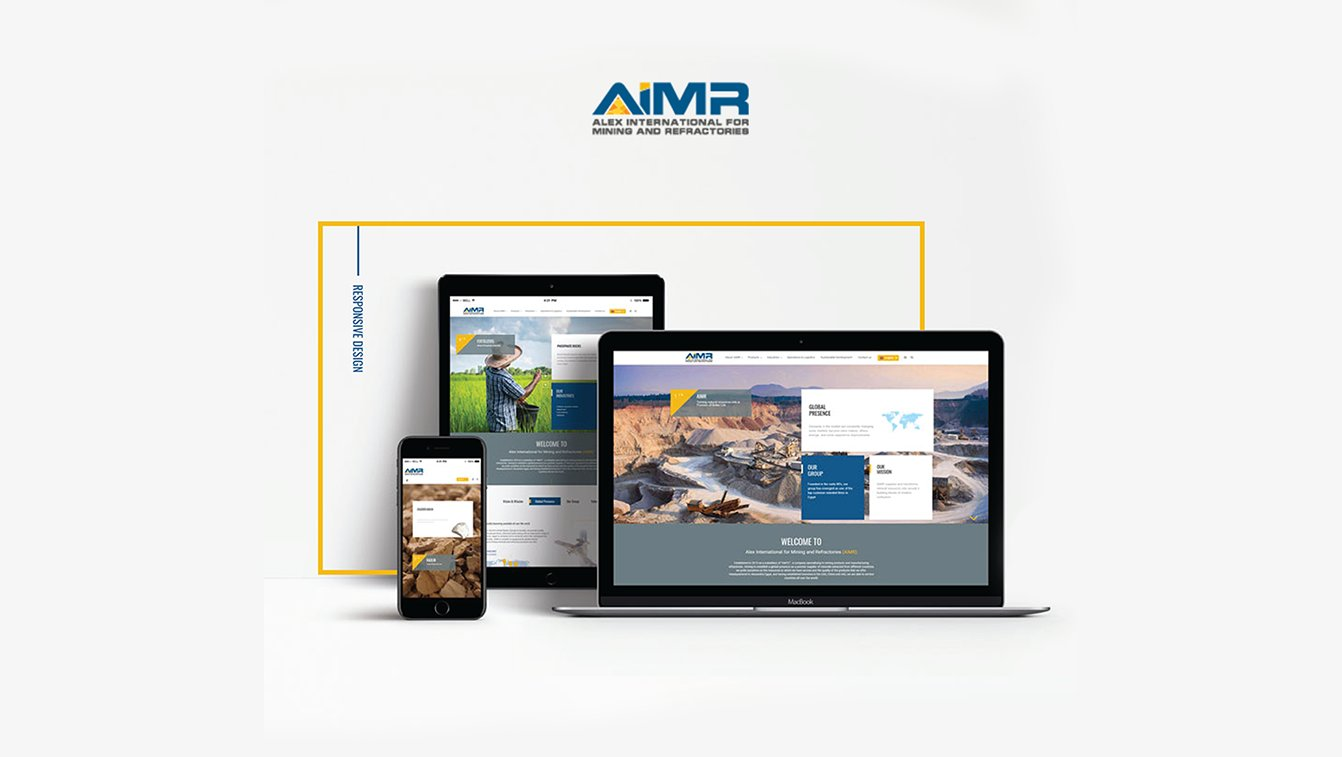 Alex Web Design and development company clients in Egypt Aimr Mining Company